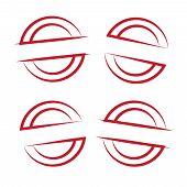 Stamp Art Set. Stamp Grunge Vector Illustration. Grunge Rubber Stamp. Circle Stamps poster