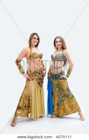 Two Beautiful Belly Dancers