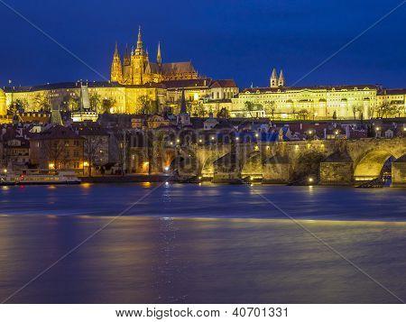Illuminated Prague