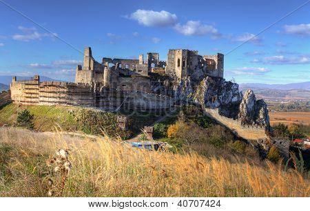Burg Beckov in der Slowakei