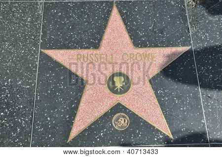 Russell Crowe's star
