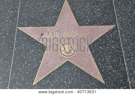 Julie Andrew's Star