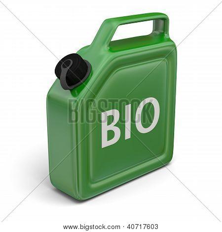 Jerry podem com biocombustível