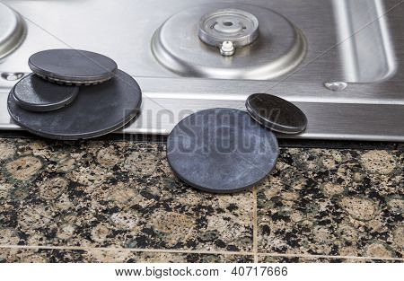 Stove Burner Covers Maintenance