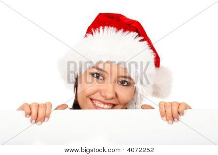 Christmas Santa Billboard