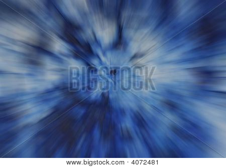 blau radial zoom