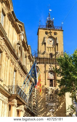 Clock Tower, Aix En Provence, France