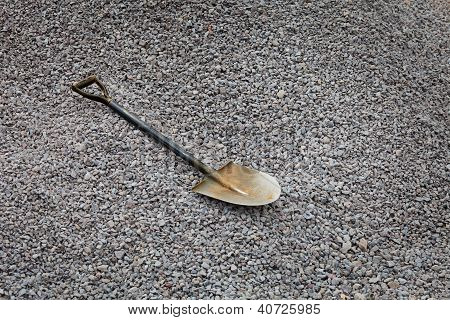 Shovel On The Gravel - Road Works