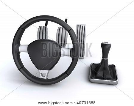 Controles de coche