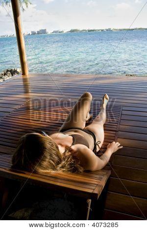 Relaxing In The Tropics