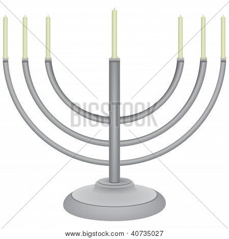 Jewish Faith - A Menorah