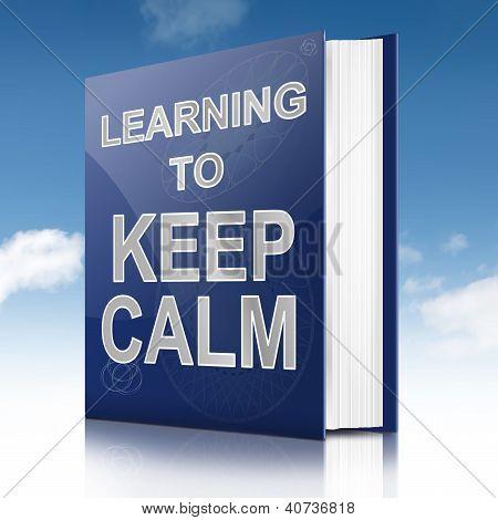 Keep Calm Concept.