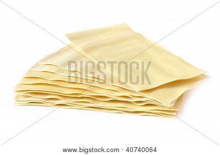 Several Lasagna Sheets