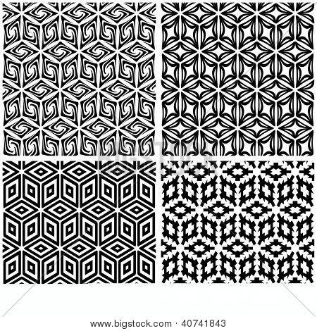 Seamless pattern. Abstract vector illustration.