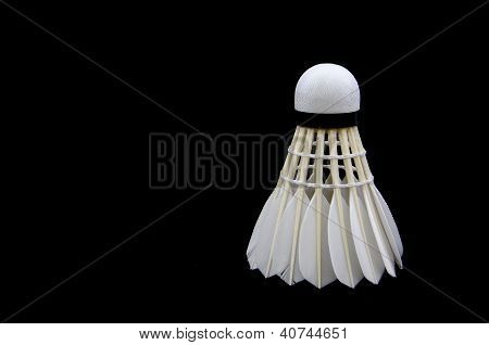 White Feather Shuttlecock