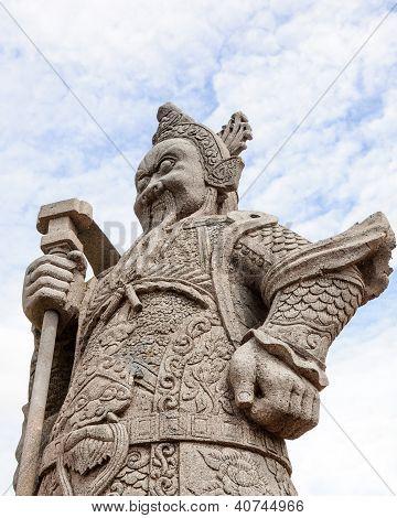 Giant Warrior Statue