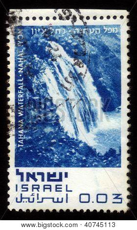 Tahana Waterfall - Nahal Iyon