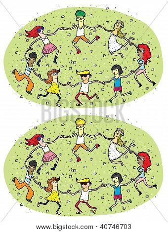 Dance Mind Game for Children