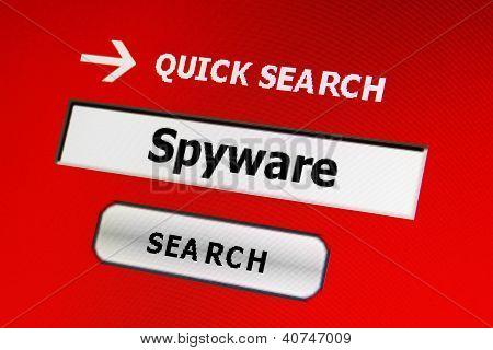 Spyware-Konzept