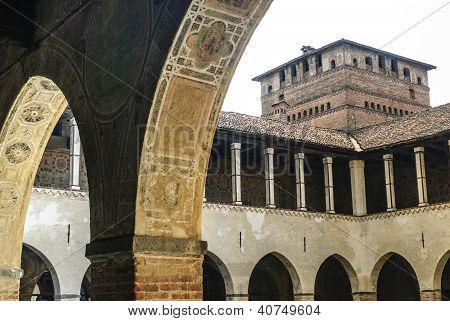 Pandino, Castle Court