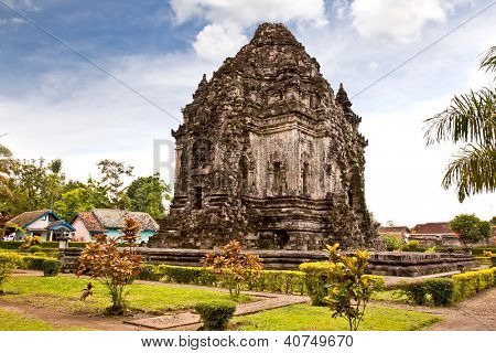 Candi Kalasan buddhist temple in Prambanan valley on  Java. Indonesia. Built around 778 a.d. it supposedly is the oldest temple among those built in the Prambanan valley.