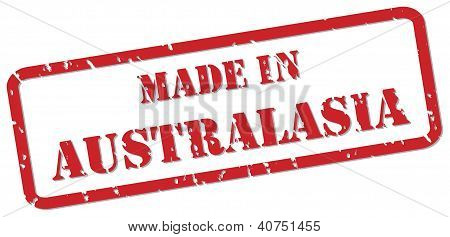 Australasia Stamp
