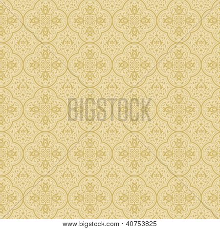 Vintage background abstract. Floral pattern. Vector. High Detail.