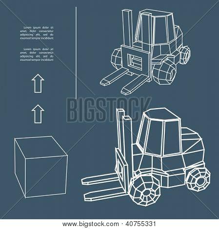 loader.Vector illustration