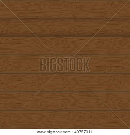 Brown boards Background  vector Illustration.