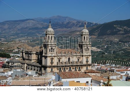 Cathedral, Jaen, Andalusia, Spain.