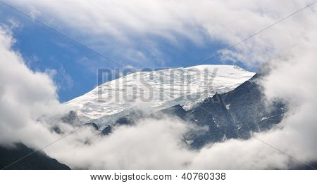 Clearing Of A Glacier