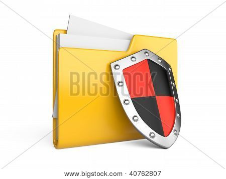Steel Shield, Computer Folder And File