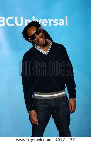 LOS ANGELES - JAN 6:  Lil' Jon attends the NBCUniversal 2013 TCA Winter Press Tour at Langham Huntington Hotel on January 6, 2013 in Pasadena, CA