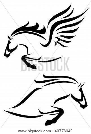 horses design