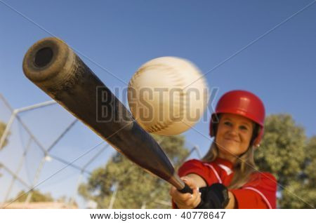 Massa bater Softball
