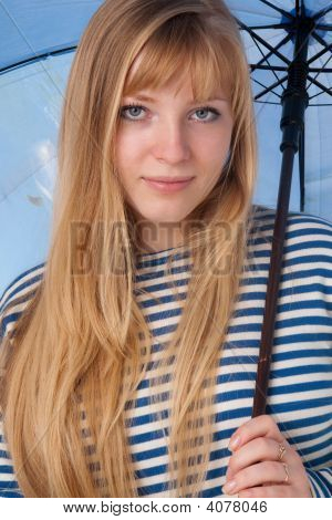 Portrait Of The Blond Girl