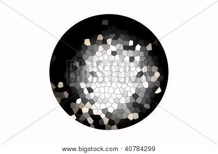 nahtlose Knistern Netzwerk Muster abstrakt (hohe Auflösung)