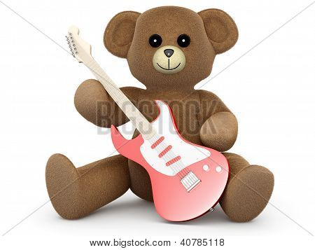 Guitar Teddy.