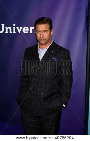 LOS ANGELES - JAN 6:  Stephen Baldwin attends the NBCUniversal 2013 TCA Winter Press Tour at Langham Huntington Hotel on January 6, 2013 in Pasadena, CA