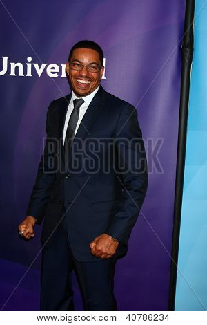 LOS ANGELES - JAN 6:  Laz Alonso attends the NBCUniversal 2013 TCA Winter Press Tour at Langham Huntington Hotel on January 6, 2013 in Pasadena, CA