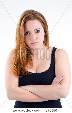 Woman Bad Attitude