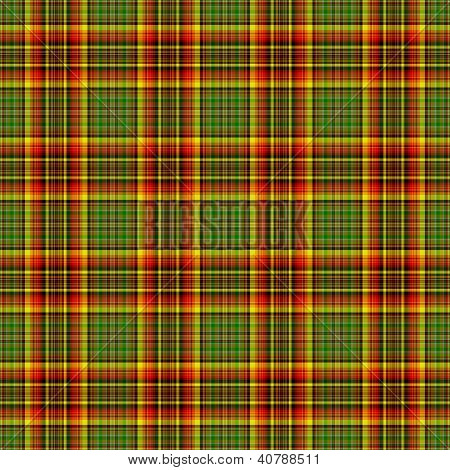 Seamless Bright Warm Plaid