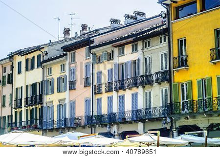 Crema (italy), Old Houses