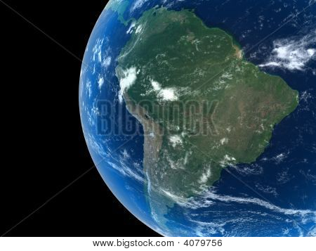 Earth - South America