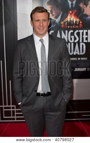 LOS ANGELES, CA - JANUARY 7: Director Ruben Fleischer arrives at the premiere of Gangster Squad at Grauman's Chinese Theatre in Los Angeles, CA on January 7, 2013