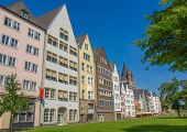 stock photo of koln  - Historical traditional houses in Koeln  - JPG