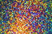 pic of fragmentation  - Seamless crackle network pattern abstract background  - JPG