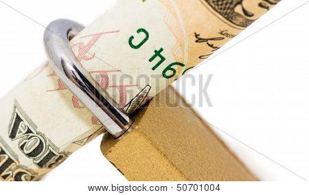 Holding Dollar