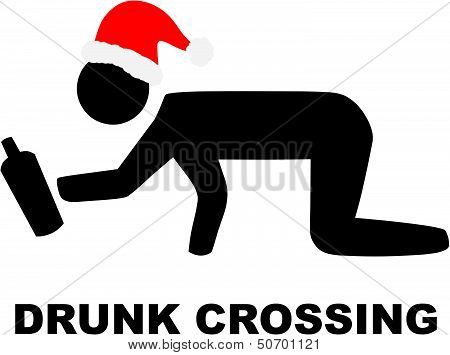 Xmas Drunk Crossing