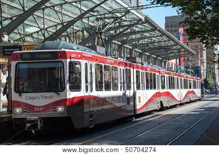 C-Train in Calgary